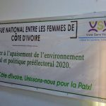 'Dialogue Among Women to Build Peace in Cote d'Ivoire ahead of the 2020 Elections'