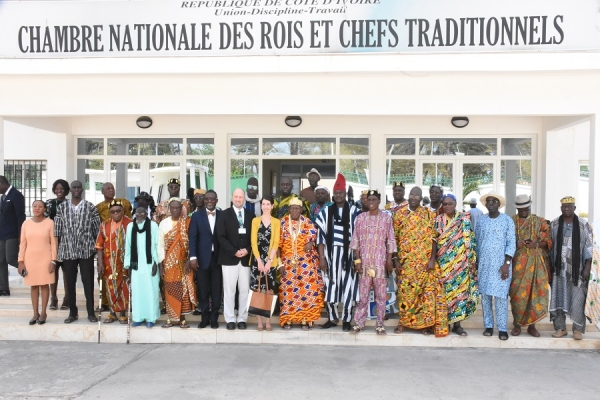 STRENGTHENING THE CONFLICT RESOLUTION AND PEACEBUILDING CAPACITIES OF THE NATIONAL CHAMBER OF KINGS AND TRADITIONAL CHIEFS IN COTE D'IVOIRE February 5 -7, 2020